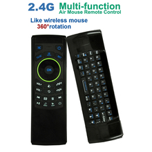 Air Mouse Wireless Keyboard 2.4GHz Multifunction Remote Controller IR learning Mini keyboard Suitable for Smart TV IPTV
