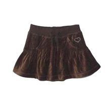 2016 New Summer Girl Baby Clothes Skirt Fashion Sweet Heart Printed Princess Short Skirt Casual Girl Kids Sport Brown Tutu Skirt