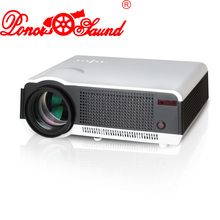 Poner Saund 5500 Lumens Projector TV home video wireless beamer LED lcd projetor usb cinema proyector data show Theater for pc