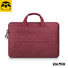 Red Portable Air Pro 11.6 12 13.3 14 15.4 15.6 - inch Messenger Portable Laptop Bags For MacBook Samsung Lenovo HP Acer Notebook