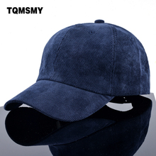 Unisex cap Spring women's Solid color htas Casual Baseball Caps men Snapback Cap corduroy Golfs gorras sun hat for women bone(China)