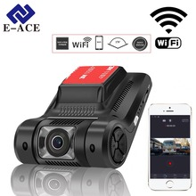 E-ACE Hidden Mini Wifi Car DVR Auto Camera Digital Video Recorder Dashcam Novatek 96658 SONY IMX 322 FHD 1080P Registrator DVRs