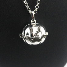 Halloween Jack O' lantern Music angel charm ball cage for Harmony bola DIY angel caller sounds pendant fit 16/18mm ball NE500