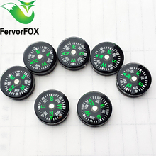 1Pc(20MM) Pocket Survival Liquid Filled Button Design Compass Derection for Climbing Hiking Camping Outdoor(China)