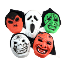 Halloween Props Masquerade Party Masks Ghost Scary Scream Mask Full Face EVA Foam Ghost Mask HW226