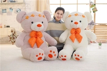 BOOKFONG 1Pc Cute Teddy Princess Bear Plush Toy Stuffed Bear Dolls Soft Kids Toys Baby Huggable Doll Kids Girls Gifts