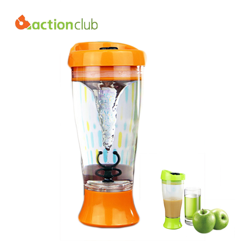 Actionclub Skinny Moo Self Stirring Mug Ultimate Chocolate Milk Mixer Coffee Stirring Cups Juice Mixer Stirring Cups HK759(China (Mainland))