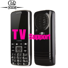 TV mobile phone big keyboard speaker FM Radio Dual SIM card 2500mAh battery cell phones(China)