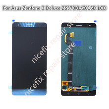 LCD Screen for Zenfone 3 Deluxe Z016S Z016D ZS570KL LCD Display and Touch Screen Digitizer Assembly(China)
