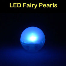 120Pcs/Lot Battery Operated Fairy Pearls Mini LED Light,Multicolor Floating LED Berries Light For Wedding Party Event Decoration(China)