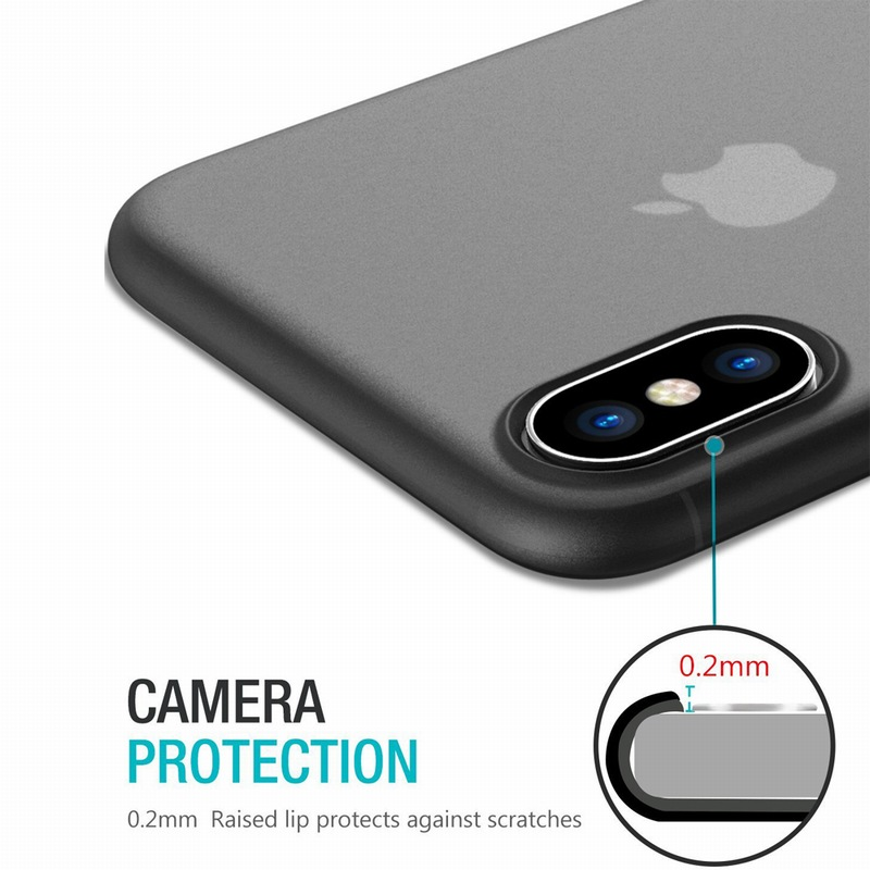 Portefeuille for iPhone X Case PP Ultra Thin Protect Hard Case for iPhone 10 8 Plus 7 6 6S 5 5S se Matte Slim Cover Cases Coque (4)