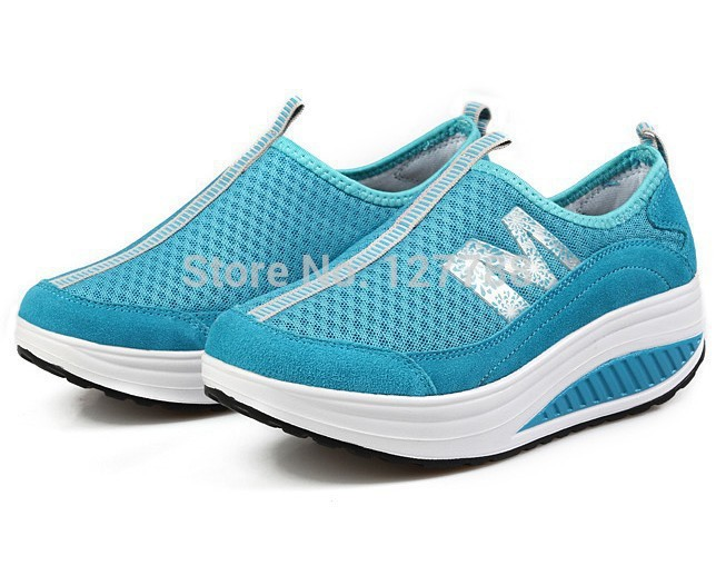 Women Pumps Women Summer Shoes Super Comfor Table Wedges Platform Slimming Shoes A656<br><br>Aliexpress