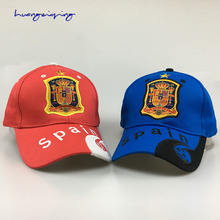 Spanish national soccer team cap world football hat summer tour baseball cap out hat