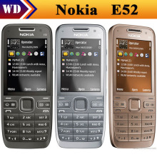 E52 Original Nokia E52 WIFI GPS JAVA 3G Russian Keyaboard Unlocked Mobile Phone In Stock refurbished(China)