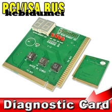 kebidumei PCI & ISA MB Diagnostic POST CARD Tester for PC Computer 2 Digit Mainboard Motherboard Analyzer(China)
