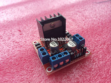 Special promotions 20pcs/lot L298N motor driver board module for arduino stepper motor smart car robot