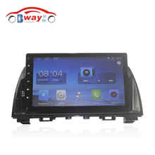 "Bway 10.2"" Quad core car radio gps navigation for Mazda 6 ATENZA 2013-2014 android 6.0 car DVD video player with Wifi,BT,SWC,DVR"
