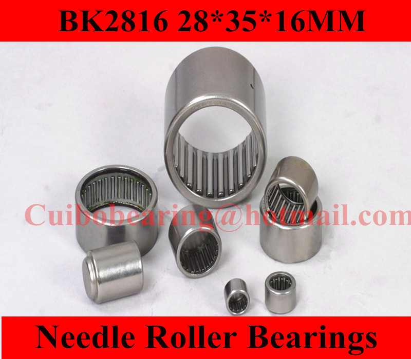 Free shipping 10PCS  BK2816 Drawn cup Needle roller bearings   the size of 28*35*16mm<br><br>Aliexpress