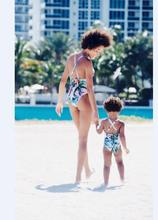 Family Matching Swimwear Mother and daughter Swimming Clothing Floral Family look Mom and Daughter Swimwear clothes outfits