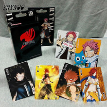 YNYNOO 54 pcs/pack Anime Fairy Tail Cute Figure collection Action & Toys figures Collection Poker Game Cards Toy Kids Best gifts