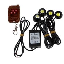 High power Led flash car light Wireless Remote eagle eye light kit Auto strobe day time light Fog lamp Auxiliary headlight kit