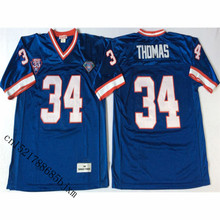 Mens 1994 Retro Thurman Thomas Stitched Name&Number Throwback Football Jersey Size M-3XL(China)