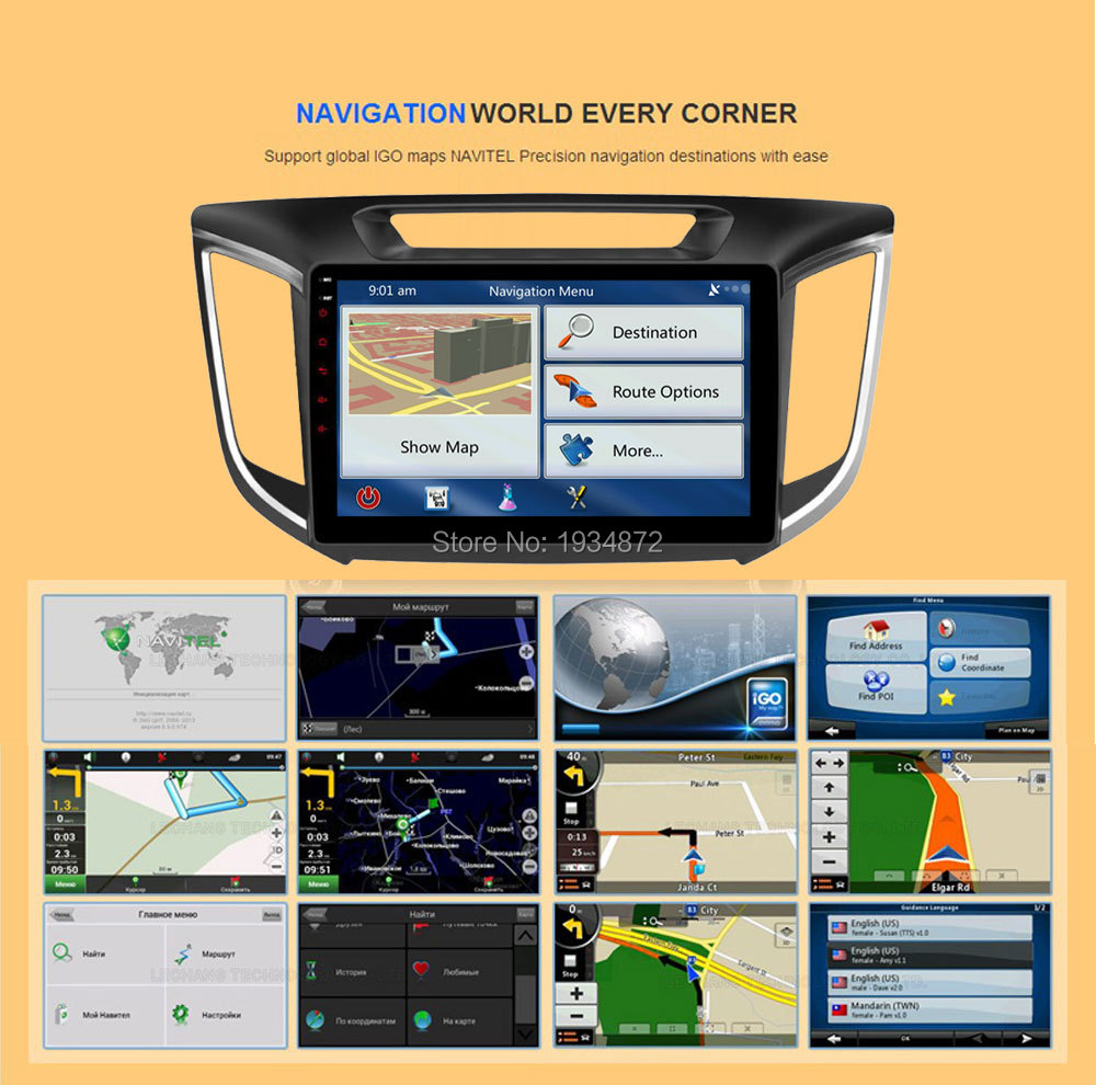 Android 6.0 CAR Audio DVD player FOR HYUNDAI ix25CRETA gps Multimedia head device unit receiver BT WIFI navigation