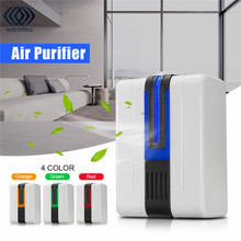 Ionizer Air Purifier For Home Negative Ion Generator Remove Formaldehyde Smoke Dust Purification Portable Air Purifier(China)