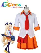 CGCOS Free Shipping Cosplay Costume Show By Rock!! Retrie Uniform Dress New in Stock Retail /Wholesale Halloween Christmas Party