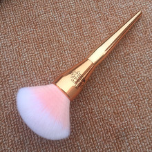 Very Big Rose Gold Powder Makeup Brush Ulta it 221 Professional Cosmetic Face Brushes Soft Hair with Cap(China)