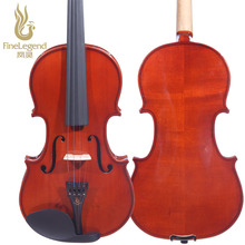 Free Shipping FineLegend 4/4 Full Size Handmade Solid Spruce Maple Professional Violin with Bow, Case and Rosin LCV1111-1