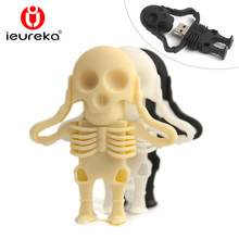 Creative usb pendrive 64GB, Cartoon SKULL USB Pen Drive, SKULL pendrive, USB Flash drive 64gb/32gb/16gb/8gb/4gb/2gb,u disk 8gb
