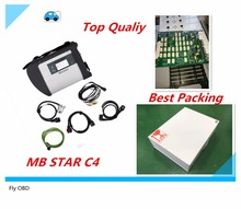 2017.12 Top Top Quality SD Connect MB STAR C4 Star Compact C4 with WIFI mb star c4 Professional Multi-languages Diagnostic Tool(China)