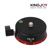 Kingjoy PB-75 Ball Head Professional Universal Camera Tripod Ballhead For Video Camera Jib Crane Max Loading 10kg(China)