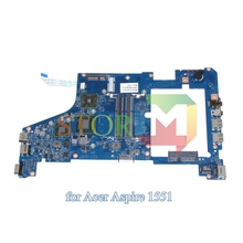 for acer aspire one 721 1551 laptop motherboard SJV10-NL MB 48.4HX01.031 55.4HX01.221G MB.SBB01.003 MBSBB01003 DDR3
