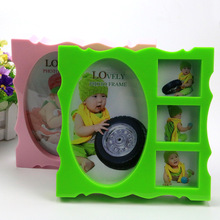 Continental curved edge combination photo frame swing sets ten yuan fine arts and crafts shop in Yiwu wholesale supply(China)
