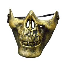 NEW Skull Mask Army Games Outdoor Metal Masquerade Fancy Dress Party Cosplay Costume Scary Mask For Halloween Party