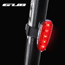 Outdoor Cycling Bicycle Taillight USB Rechargeable LED 2 Colors Helmet Rear Lamp Safety Warning Seat Post Light