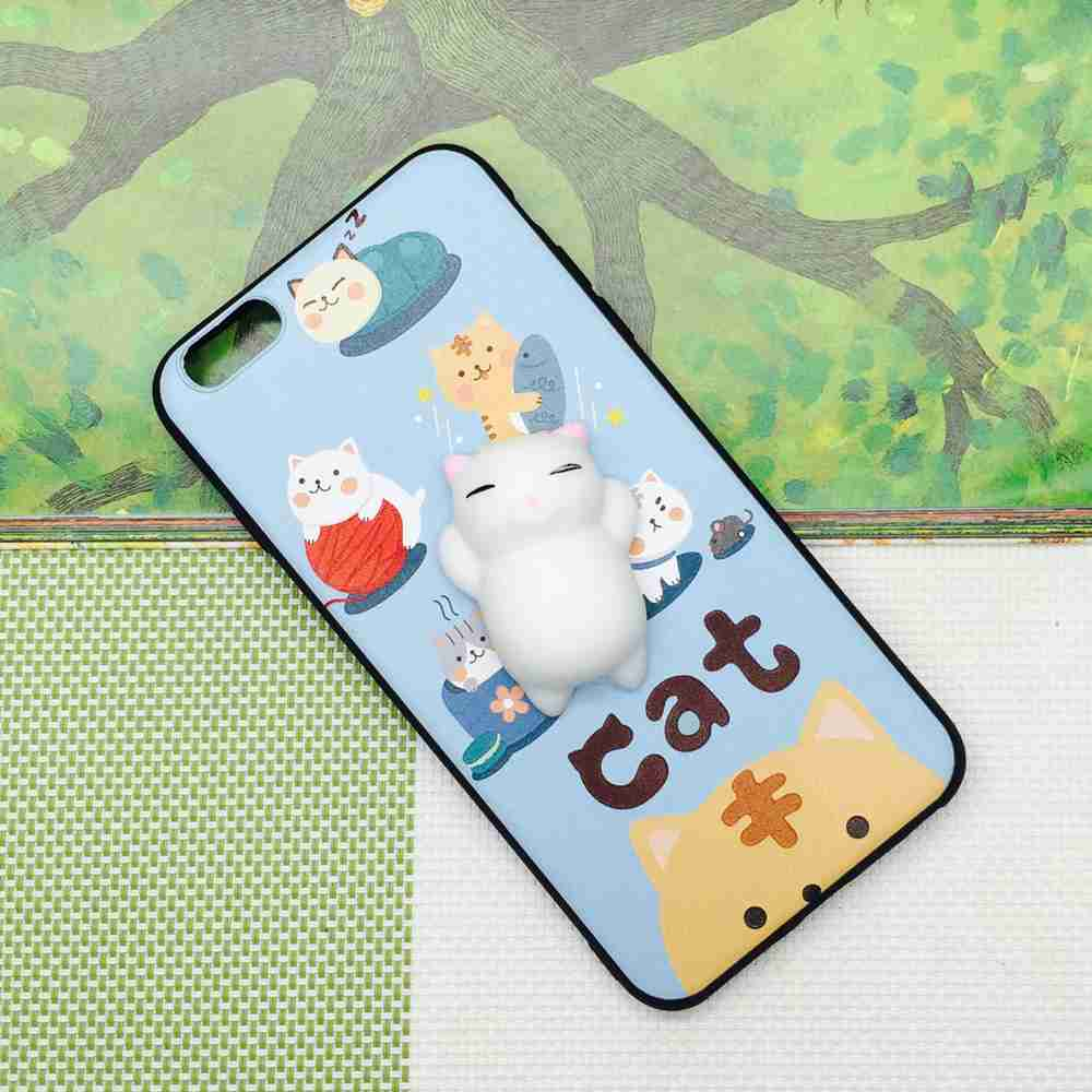 Cover iphone 5 squishy - Wonderfultry Tpu Cover Coque For Iphone Se 5s 5 3d Cute Soft Silicone Squishy Cat Fundas Phone Case Capa For Iphone 5 5s Se