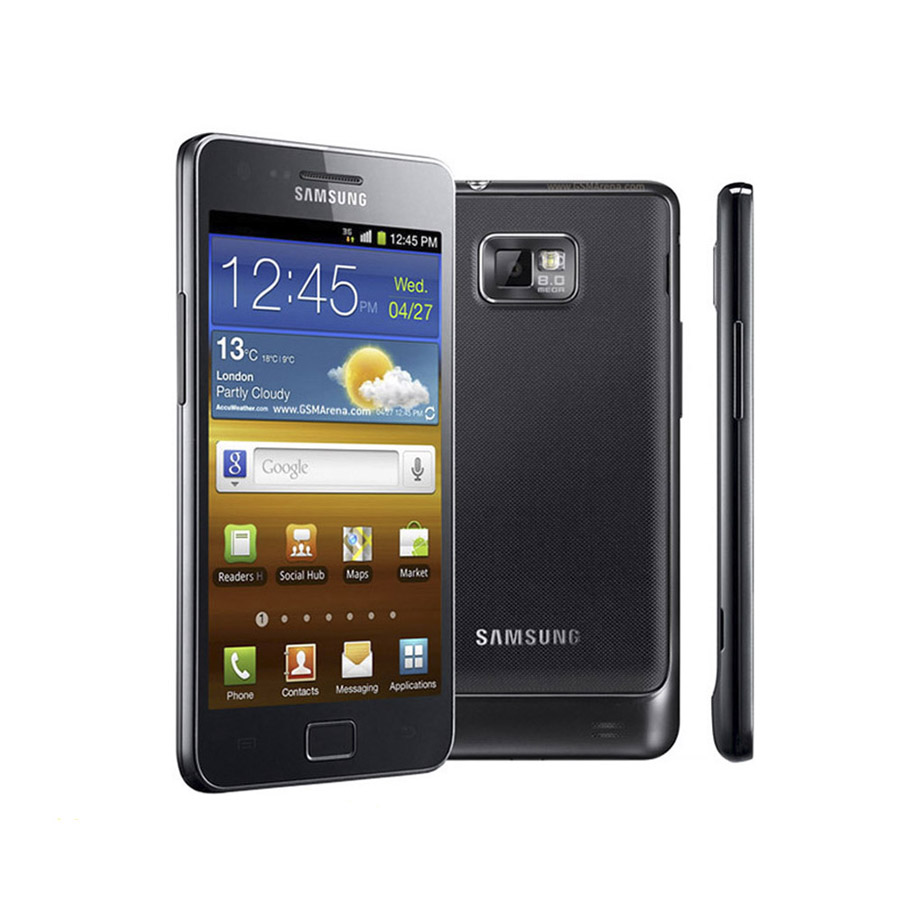 Unlocked Samsung GALAXY S2 I9100 Android 2.3 Wi-Fi GPS 8.0MP camera Core 4.3''refurbished cell phone(China (Mainland))