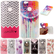 Cute Cartoon Animal Cat Elephant TPU Fundas Phone Cases For Huawei Honor8 Honor 8 / Nova / Honor 5A Y6 ii Y6ii Y6 2 Cover Case