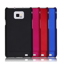 S2 Matte Hard Rubber Case Back Cover For Samsung Galaxy S2 i9100 SII Plus I9105 +Free Stylus Pen