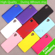 For LG nexus 5 Ultra Thin Scrub Phone Shell Frosted Plastic Matte Hard Back Case Cover Protective Shell
