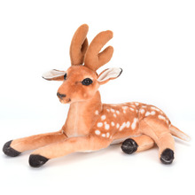 High Quality Kawaii Cute Sika Plush Toys Anime Animals Deer Stuffed Toys Baby Toy Kids Gift