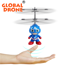 Buy Global Drone RC Helicopter Drone 2 Channel Remote Control Spaceman Helicopter Induction Aircraft Toy Indoor Children Gift Toys for $17.28 in AliExpress store