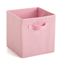 Best Price Home Storage Bins Organizer Fabric Cube Boxes Shelf Drawer Container Collapsible Storage Bags