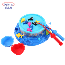 Baby toys Fishing toy series children electric magnetic pool fish game Can add water Parenting family outdoor kids toy gift 6003