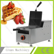 Gas rectangle industrial professional belgium waffle machine for sale/ Waffle maker commercial(China)