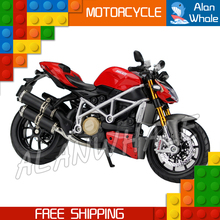 1:12 Scale New Ducati Mod Streetfighter S Metal Diecast Model Motorcycle Motorbike Racing Cars Toys Boys Vehicle Collection