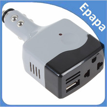 8.25 Promotion! DC 12 / 24V to AC 220V / USB 6V Car Mobile Power Converter Inverter Car Adapter Lowest Price!(China)